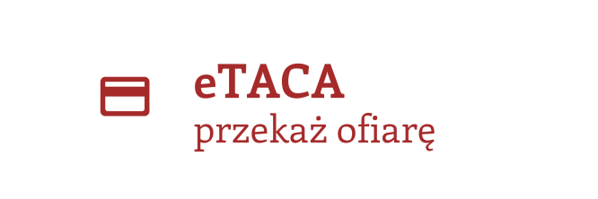 eTaca | przekaż ofiarę